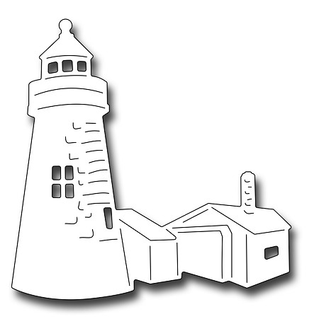 Frantic Stamper Precision Die - Lighthouse