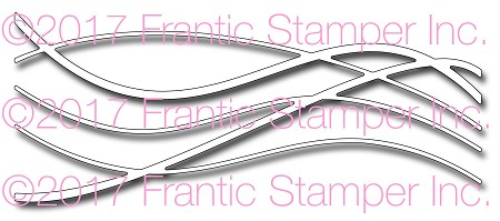 Frantic Stamper Precision Die - Freeform Wave