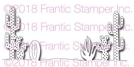 Frantic Stamper Cactus Edger