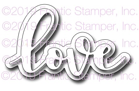 Frantic Stamper Precision Die - Giant Layered love