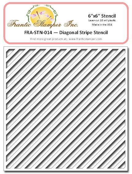 Franitc Stamper Diagonal Stripe