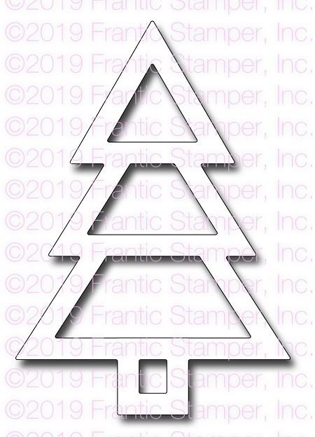 Shaker Christmas Tree
