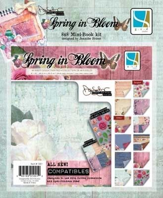"GCD Studios - Donna Salazar 8""x8"" Mini Book Kit  - Spring in Bloom"