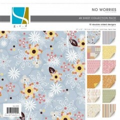 "GCD Studios - Donna Salazar 12""x12"" Collection Pad - No Worries"