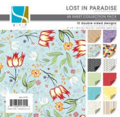 "GCD Studios - Donna Salazar 8""x8"" Collection Pad - Lost in Paradise"