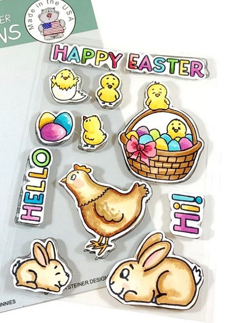 Gerda Steiner - Clear Stamps - Chicks and Bunnies