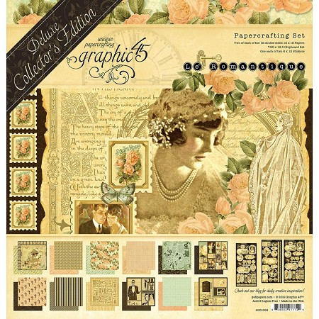 Graphic 45 - Deluxe Collector's Edition - Le Romantique