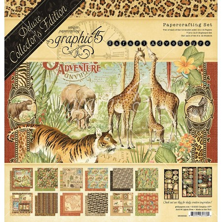 Graphic 45 - Deluxe Collector's Edition - Safari Adventure