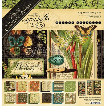 Graphic 45 - Deluxe Collector's Edition - Nature's Notebook