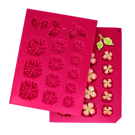 Heartfelt Creations - Flower Shaping Mold - 3D Blossoms Shaping Mold