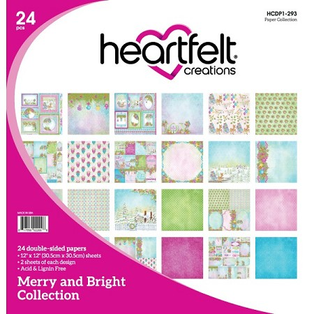 "Heartfelt Creations - 12""x12"" Paper Pad - Merry and Bright Paper Collection"