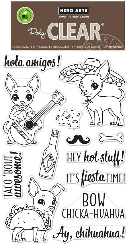 Hero Arts - Clear Stamp - Fiesta Time