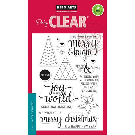 Hero Arts - Clear Stamp - Joy To The World