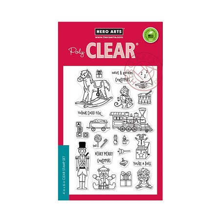 Hero Arts - Clear Stamp - Christmas Toys
