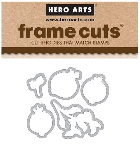 Hero Arts - Frame Cuts Die - Color Layering Pomegranate