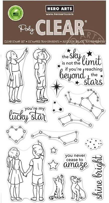 Hero Arts - Clear Stamp - Lucky Star