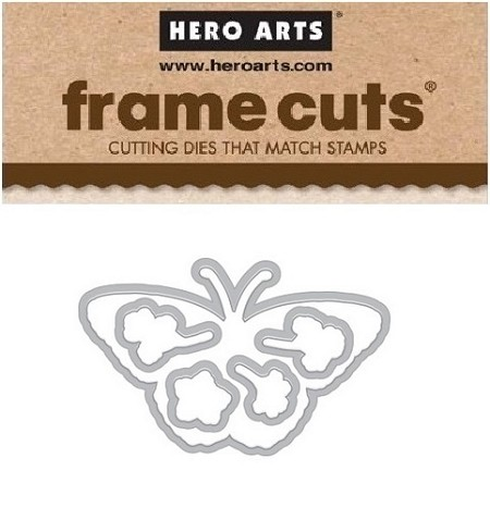 Hero Arts - Frame Cuts Die - Color Layering Monarch Butterfly