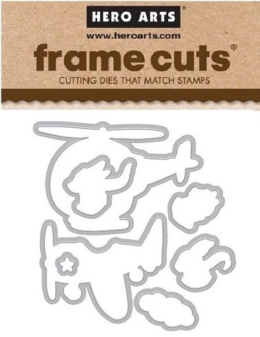 Hero Arts - Frame Cuts Die - Fly High Animals