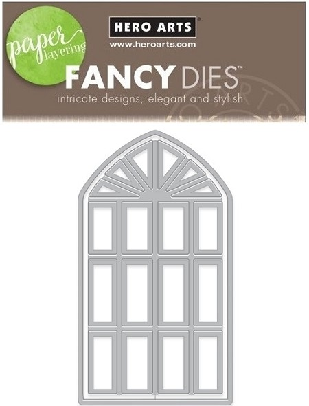 Hero Arts - Fancy Die - Ballroom Window Fancy Die