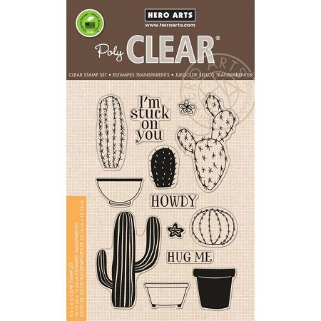 Hero Arts - Clear Stamp - Stamp Your Own Cactus