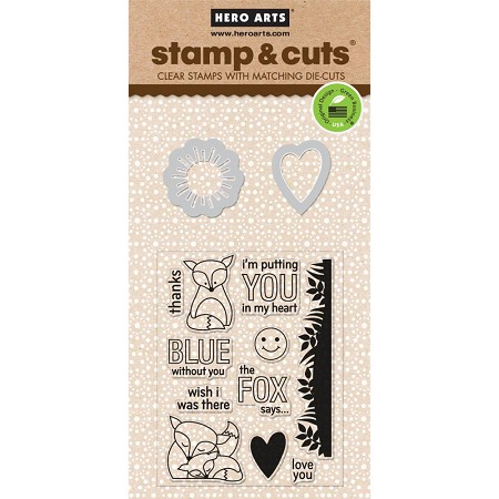 Hero Arts - Stamp & Cut - The Fox Says