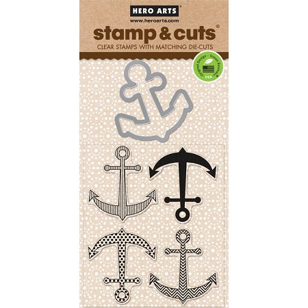 Hero Arts - Stamp & Cut - Anchor