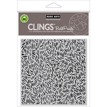 Hero Arts - Cling Stamp - Forest Floor Bold Prints