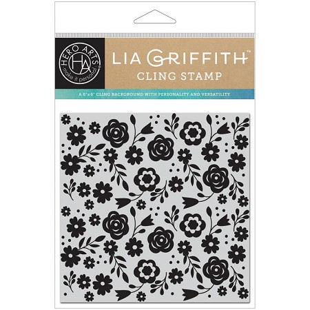 Hero Arts - Cling Stamp - Floral Bold Prints by Lia Griffith