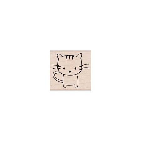 Hero Arts - Wood Mounted Rubber Stamp - Meow