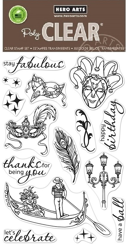 Hero Arts - Clear Stamp - Carnevale