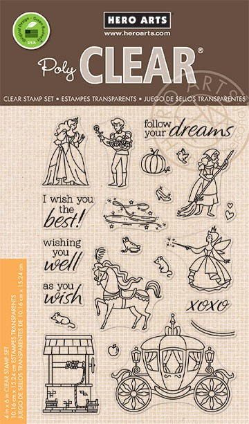 Hero Arts - Clear Stamp - As You Wish