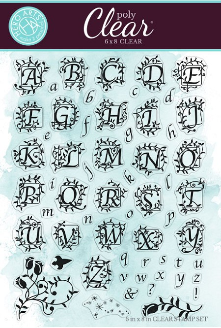Hero Arts - Clear Stamp - Fairytale Book Alphabet