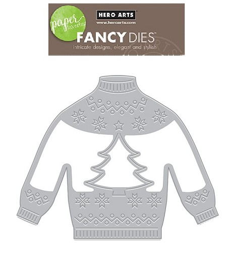 Hero Arts - Fancy Die - Christmas Sweater Fancy Die
