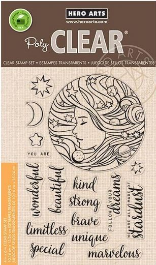 Hero Arts - Clear Stamp - Universal Woman