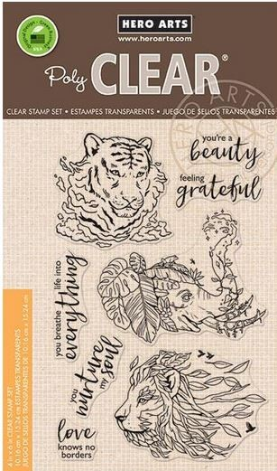 Hero Arts - Clear Stamp - Nature's Beauty