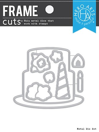 Hero Arts - Frame Cuts Die - Decorate A Cake