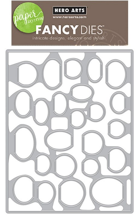Hero Arts - Fancy Die - Circular Peek-A-Boo Doors