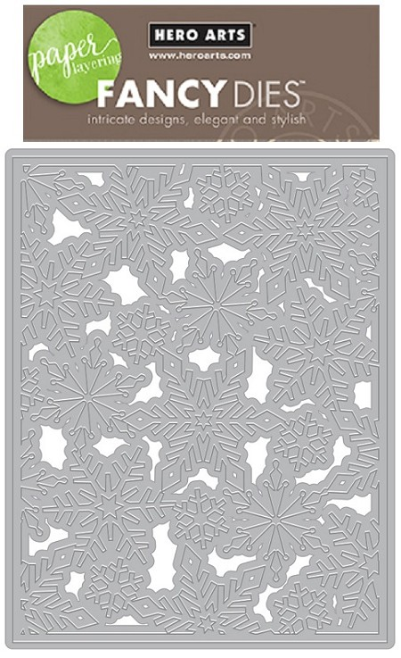Hero Arts - Fancy Die - Snowflake Pattern Cover Plate