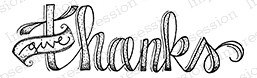 Impression Obsession - Cling Mounted Rubber Stamp - By Lindsay Ostrom - Give Thanks