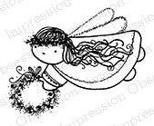 Impression Obsession - Cling Mounted Rubber Stamp - By Lindsay Ostrom - Angelica