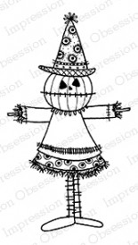 Impression Obsession - Cling Mounted Rubber Stamp - By Lindsay Ostrom - Mr. P. Umpkin