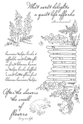Impression Obsession Clear Stamp - Sweet Delights