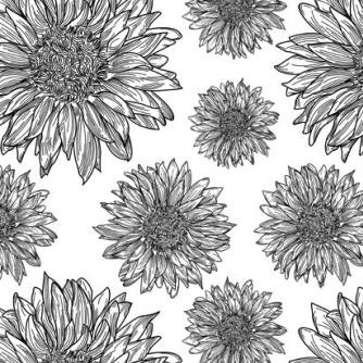 Impression Obsession - Cling Mounted Rubber Stamp - Cover A Card - Sunflower