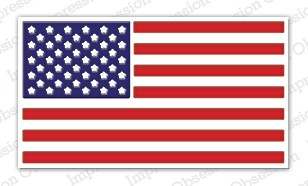 Impression Obsession - Die - US Flag