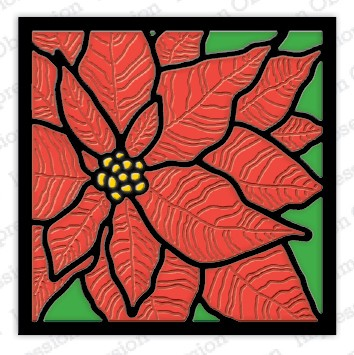 Impression Obsession - Die - Poinsettia Frame