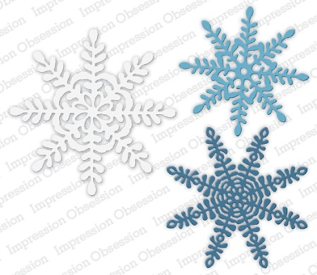 Impression Obsession - Die - Primitive Snowflakes