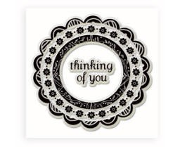 Inkadinkado Clear Stamps - Thinking of You