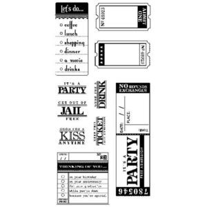 Inkadinkado Clear Stamps - Paperwork Greetings