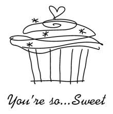 Inkadinkado Clear Stamps - You Are So Sweet