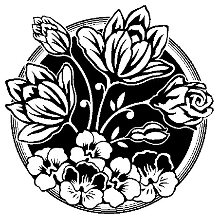 Inkadinkado Clear Stamps - Flower Bouquet